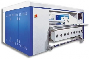 Digital printing machine for fabric